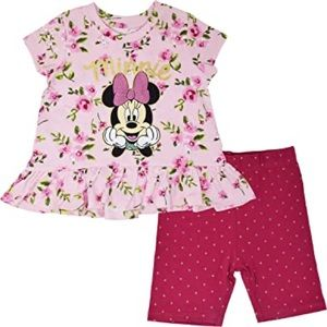 Disney Minnie Mouse rose pink outfit